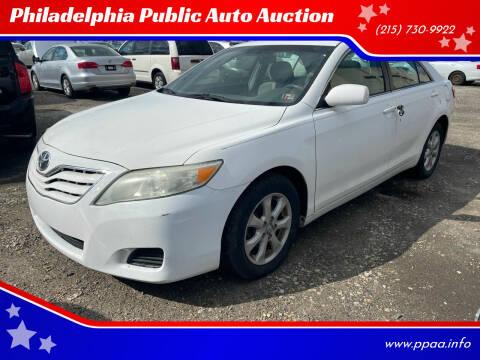 2010 Toyota Camry for sale at Philadelphia Public Auto Auction in Philadelphia PA