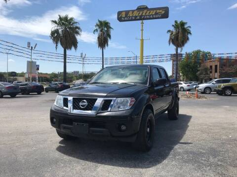 2012 Nissan Frontier for sale at A MOTORS SALES AND FINANCE in San Antonio TX