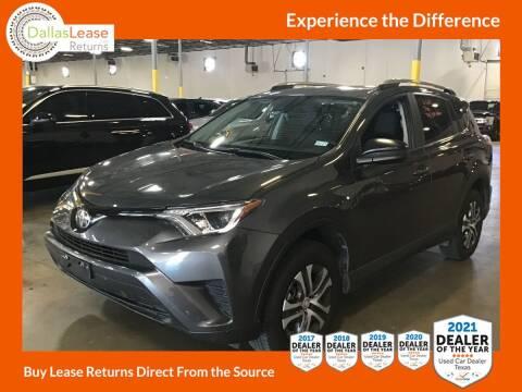 2018 Toyota RAV4 for sale at Dallas Auto Finance in Dallas TX
