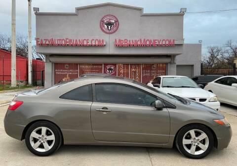 2008 Honda Civic for sale at Eazy Auto Finance in Dallas TX