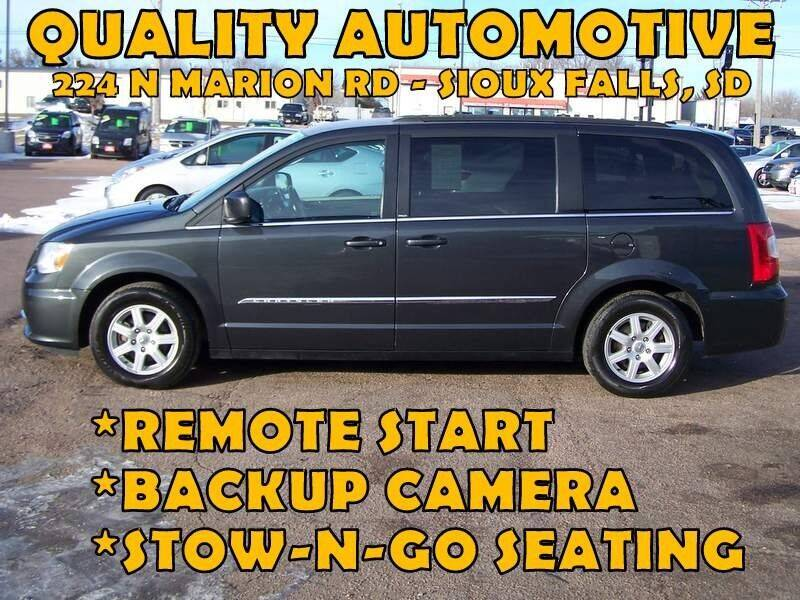 2011 Chrysler Town and Country for sale at Quality Automotive in Sioux Falls SD