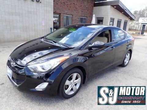 2013 Hyundai Elantra for sale at S & J Motor Co Inc. in Merrimack NH