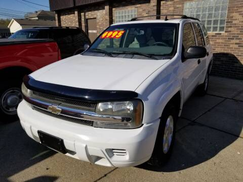 2007 Chevrolet TrailBlazer for sale at Madison Motor Sales in Madison Heights MI
