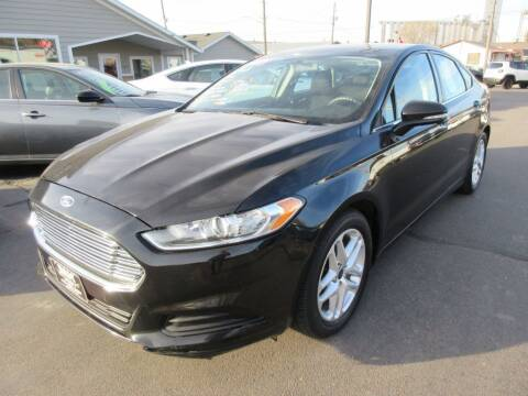 2013 Ford Fusion for sale at Dam Auto Sales in Sioux City IA