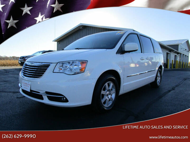 2012 Chrysler Town and Country for sale at Lifetime Auto Sales and Service in West Bend WI