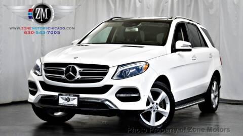 2016 Mercedes-Benz GLE for sale at ZONE MOTORS in Addison IL