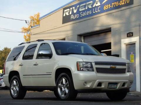 2009 Chevrolet Tahoe for sale at Rivera Auto Sales LLC in Saint Paul MN