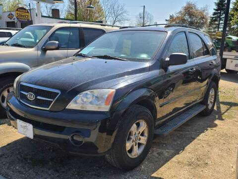 2005 Kia Sorento for sale at Nelson's Straightline Auto - 23923 Burrows Rd in Independence WI