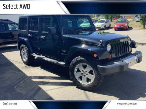 2011 Jeep Wrangler Unlimited for sale at Select AWD in Provo UT