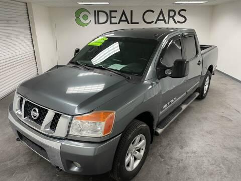 2014 Nissan Titan for sale at Ideal Cars in Mesa AZ