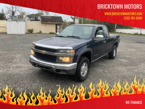 2007 Chevrolet Colorado for sale at Bricktown Motors in Brick NJ