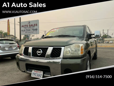 2004 Nissan Titan for sale at A1 Auto Sales in Sacramento CA