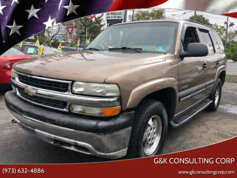 2003 Chevrolet Tahoe for sale at G&K Consulting Corp in Fair Lawn NJ