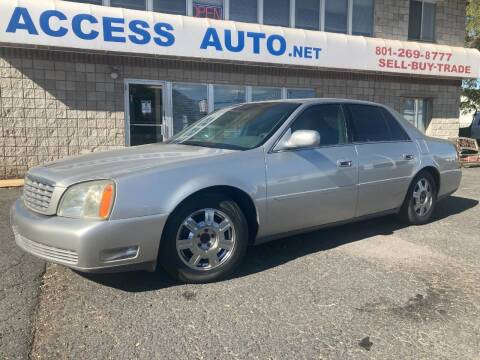 2005 Cadillac DeVille for sale at Access Auto in Salt Lake City UT