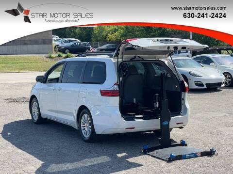 2015 Toyota Sienna for sale at Star Motor Sales in Downers Grove IL