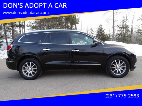 2017 Buick Enclave for sale at DON'S ADOPT A CAR in Cadillac MI