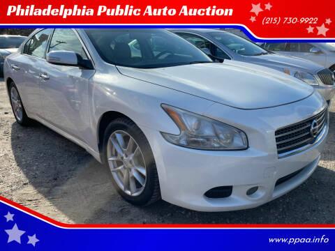 2011 Nissan Maxima for sale at Philadelphia Public Auto Auction in Philadelphia PA