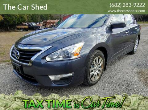 2013 Nissan Altima for sale at The Car Shed in Burleson TX