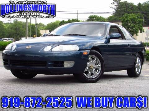 1995 Lexus SC 400 for sale at Hollingsworth Auto Sales in Raleigh NC