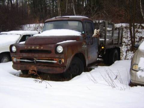 1957 Dodge Flatbed for sale at Classic Car Deals in Cadillac MI