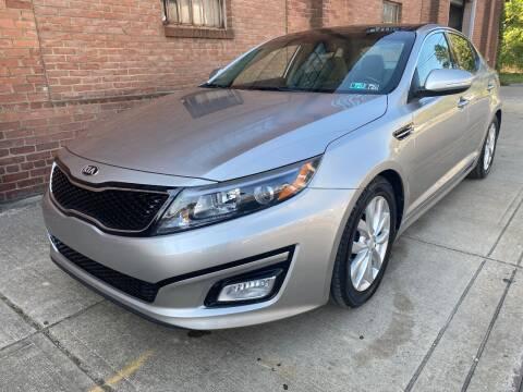 2015 Kia Optima for sale at Domestic Travels Auto Sales in Cleveland OH