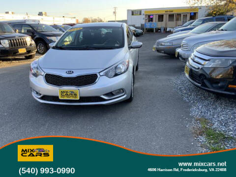 2014 Kia Forte for sale at Mix Cars in Fredericksburg VA