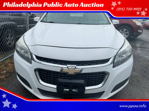 2014 Chevrolet Malibu for sale at Philadelphia Public Auto Auction in Philadelphia PA