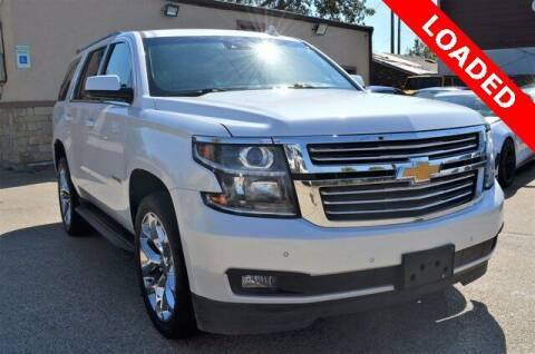2016 Chevrolet Tahoe for sale at LAKESIDE MOTORS, INC. in Sachse TX