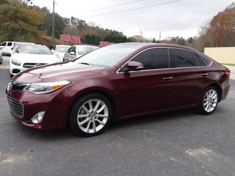 2013 Toyota Avalon for sale at Luxury Auto Innovations in Flowery Branch GA