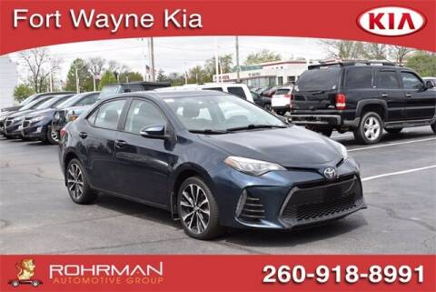 2018 Toyota Corolla for sale at BOB ROHRMAN FORT WAYNE TOYOTA in Fort Wayne IN