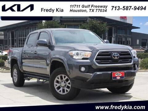 2019 Toyota Tacoma for sale at FREDY KIA USED CARS in Houston TX