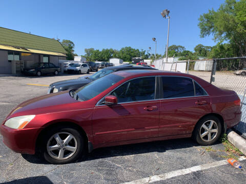 2005 Honda Accord for sale at Castle Used Cars in Jacksonville FL