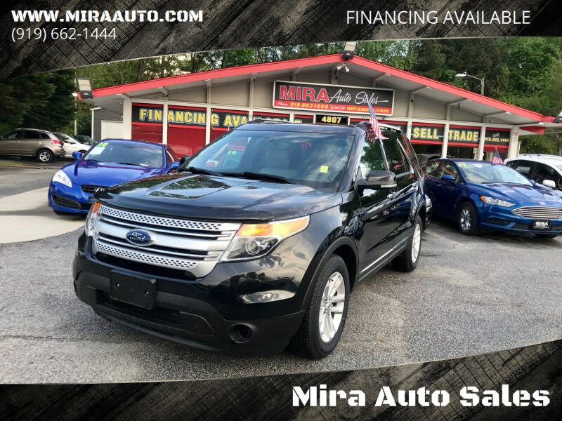 2013 Ford Explorer for sale at Mira Auto Sales in Raleigh NC