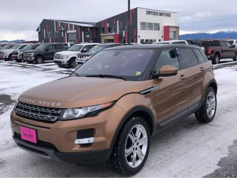 2015 Land Rover Range Rover Evoque for sale at Snyder Motors Inc in Bozeman MT