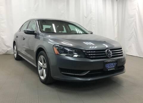 2012 Volkswagen Passat for sale at Direct Auto Sales in Philadelphia PA