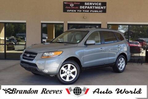 2008 Hyundai Santa Fe for sale at Brandon Reeves Auto World in Monroe NC