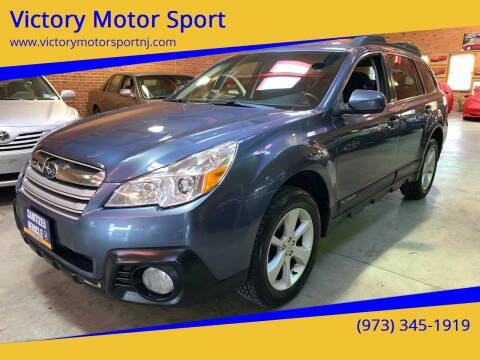 2013 Subaru Outback for sale at Victory Motor Sport in Paterson NJ