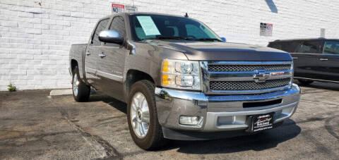 2012 Chevrolet Silverado 1500 for sale at ADVANTAGE AUTO SALES INC in Bell CA