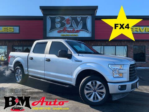2017 Ford F-150 for sale at B & M Auto Sales Inc. in Oak Forest IL