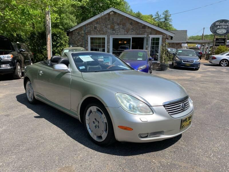 2003 Lexus SC 430 for sale at Bladecki Auto LLC in Belmont NH