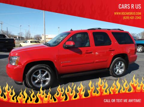 2007 Chevrolet Tahoe for sale at Cars R Us in Chanute KS