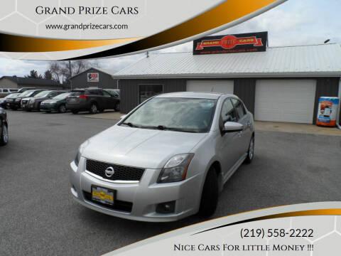 2012 Nissan Sentra for sale at Grand Prize Cars in Cedar Lake IN