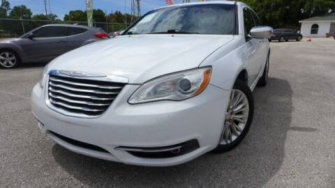 2012 Chrysler 200 for sale at Das Autohaus Quality Used Cars in Clearwater FL