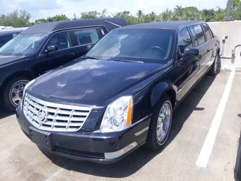 2007 Cadillac DTS Pro for sale at LAND & SEA BROKERS INC in Pompano Beach FL