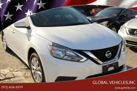 2017 Nissan Sentra for sale at Global Vehicles,Inc in Irving TX