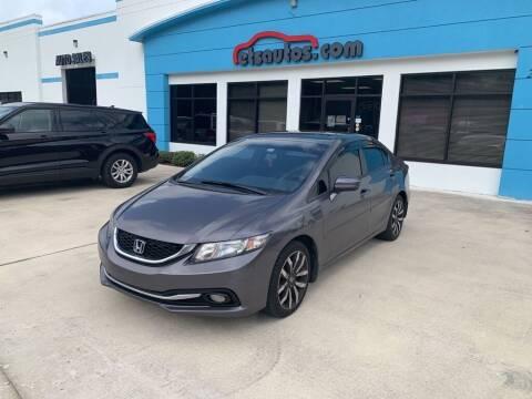 2015 Honda Civic for sale at ETS Autos Inc in Sanford FL