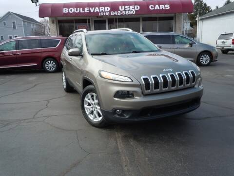 2017 Jeep Cherokee for sale at Boulevard Used Cars in Grand Haven MI