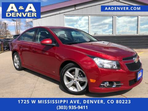 2014 Chevrolet Cruze for sale at A & A AUTO LLC in Denver CO