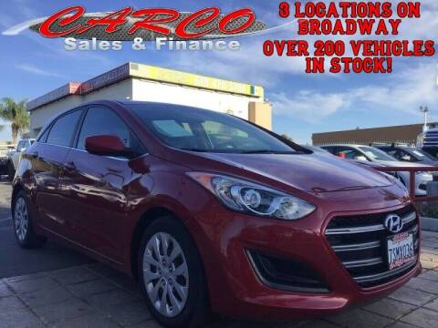 2016 Hyundai Elantra GT for sale at CARCO SALES & FINANCE in Chula Vista CA