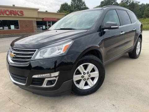 2014 Chevrolet Traverse for sale at Gwinnett Luxury Motors in Buford GA